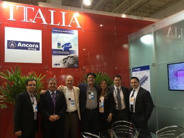 B&T e Ancora a Expo Revestir: tecnologia  e service al top per il mercato brasiliano