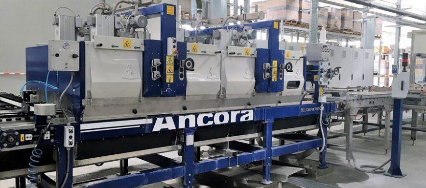 Impianto completo per il fine linea targato Ancora per Ceramica Del Conca