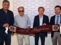 Il Gruppo Romani in campo con la Reggiana Calcio per la stagione 2016-2017