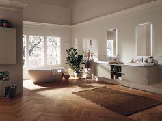 Rigorosa geometria per la collezione Aquo di Scavolini Bathrooms