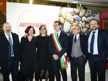 Inaugurata la 41esima edizione di Arte Fiera a Bologna dal 27 al 30 gennaio