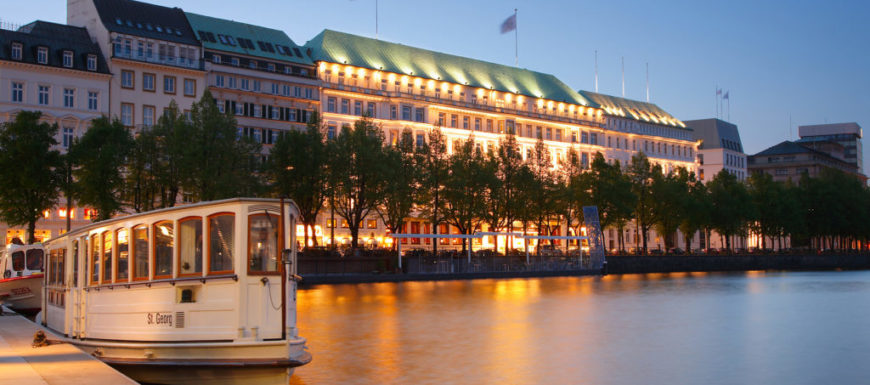 L'arredo Sicis per il Fairmont Hotel di Amburgo