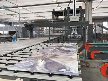 Studio 1 Automazioni Industriali Terzo Fuoco XXL: Il decoro sulle grandi superfici ceramiche