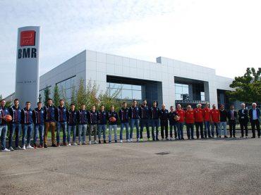 BMR main sponsor di BMR Basket 2000 Scandiano per la Stagione 2017-2018