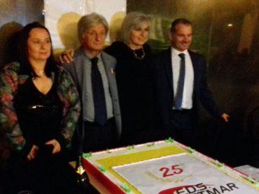 Grande festa F.D.S. per i 25 anni di attività