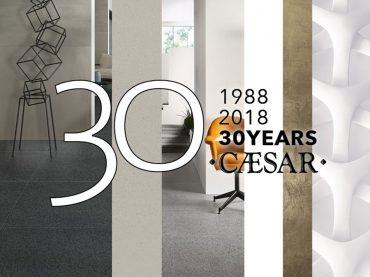 1988-2018: Caesar compie 30 anni
