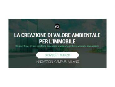 """Fiandre sponsor del seminario Copernico4.0 """"La creazione di valore ambientale per l'immobile"""""""