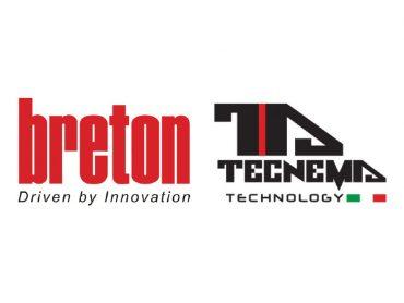 Breton SpA rafforza la propria presenza nel settore ceramico con Tecnema Technology Srl