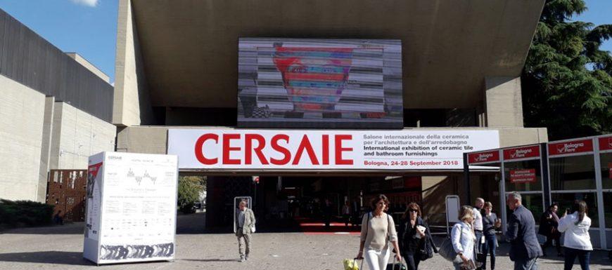 Cersaie registra 112.104 presenze, con un incremento dei visitatori internazionali (+1,6%)