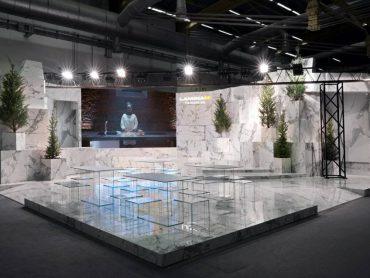 Laminam a Cersaie: Invisible White Landscape