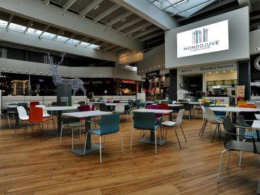 Ceramiche Keope per Mondojuve, il nuovo e moderno shopping center alle porte di Torino immerso nella natura