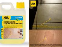 FILACLEANER: Detergente concentrato neutro per la pulizia delicata di pavimenti e rivestimenti