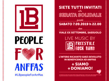 LB people for anffas – Serata solidale