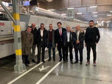 Nuovo forno Sacmi FMA+ installato in Italgraniti Group