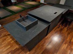 Laminam: Pietra di Cardoso Nero, la nuova elegante finitura con tecnologia IN-SIDE