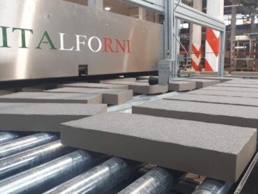 Italforni: Nuovo forno a rulli per materiali spessorati