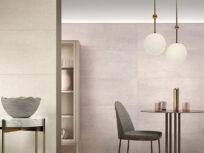 Colori tenui e materici vestono la casa di personalità: le pareti diventano protagoniste con Wallcraft di Panaria Ceramica