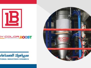 LB Easy Color Boost: Prima fornitura per la National Industries Ceramics (Kuwait)