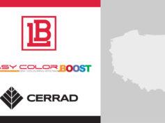 Cerrad raddoppia con la tecnologia di colorazione a secco Easy Color Boost di LB