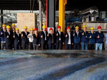 Monalisa realizza con SACMI la lastra ceramica più grande del mondo