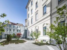 """Il progetto """"Principe Amedeo 5 Milano"""", firmato da Vittorio Grassi & Partners con il contributo di Lea Ceramiche, tra i progetti candidati al Premio Mies van der Rohe 2022"""