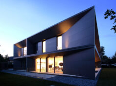Geneva villa, eleganza minimalista ed eco-sostenibilità con collection Nero di Laminam