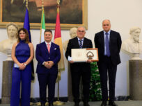 Consegna del Premio 100 Eccellenze Italiane VI^ Edizione a Italforni