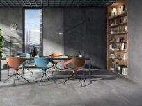 Blade, grandi superfici dai contrasti luminosi: Panaria Ceramica presenta una seconda pelle effetto metallo per spazi accoglienti e contemporanei