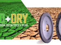 DIATEX ECO+DRY: Gamma di mole diamantate ecologiche per la rettifica a secco