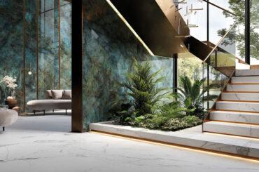 A Cersaie 2021 Ceramica Rondine, del Gruppo Italcer, presenta nuove collezioni che spaziano tra effetti grafici e colori